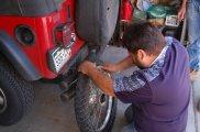 Diego fixing bike